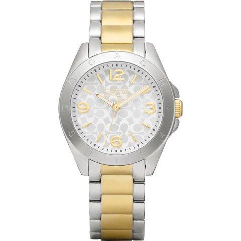 コーチ 腕時計 トリステン 14501781 シルバー×ゴールド