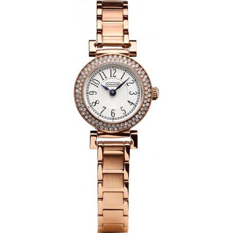 コーチ 腕時計 マディソンファッション 14501905 ホワイト×ローズゴールド