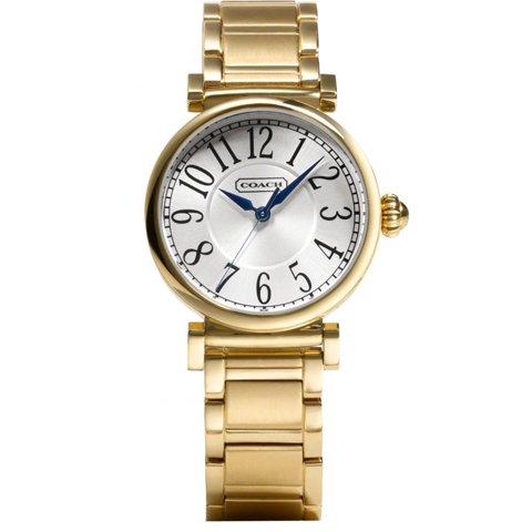コーチ 腕時計 マディソンファッション 14501720 シルバー×ゴールド