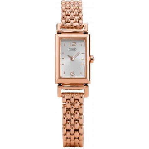 コーチ 腕時計 マディソン 14501740 シルバー×ローズゴールド