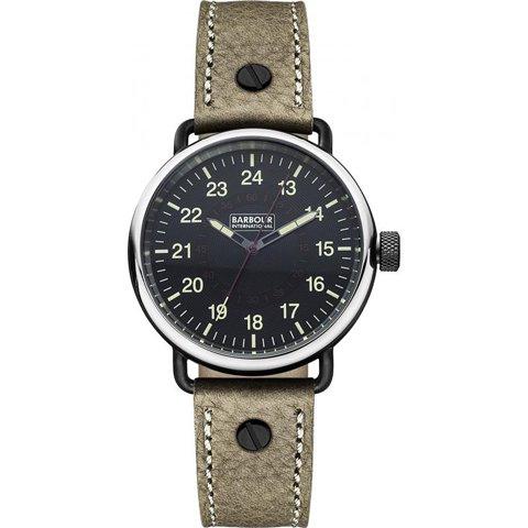 バブアー インターナショナル 腕時計 ファウラー BB022BKBR ブラック×サンドレザー