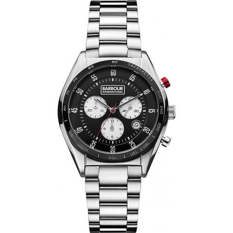 バブアー インターナショナル 腕時計 ボズウェル BB025BKSL ブラック×シルバー