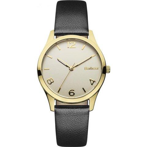 バブアー 腕時計 アフトン BB002GDBK ゴールド×ブラックレザーベルト