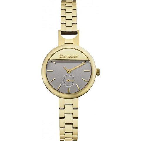 バブアー 腕時計 ホートン BB005GD ゴールド×シルバー