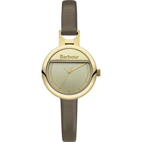 バブアー 腕時計 ホートン BB005GDGR ゴールド×ブラウンレザーベルト