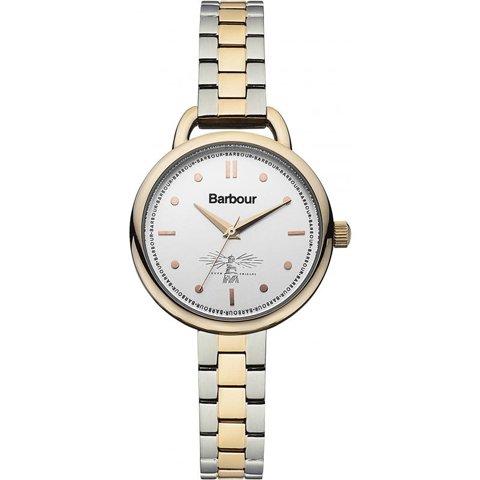 バブアー 腕時計 フィンレイ BB006RSSL シルバー×ゴールド×ツートンベルト