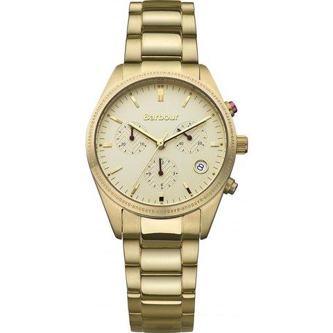バブアー 腕時計 リドリー BB012GD クリーム×ゴールド