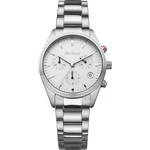 バブアー 腕時計 リドリー BB012SL ホワイト×シルバー