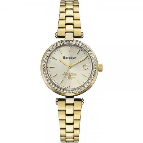 バブアー 腕時計 エムリン BB014GDGD ゴールド×ゴールド