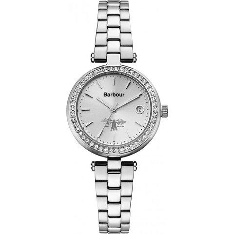 バブアー 腕時計 エムリン BB014SLSL シルバー×シルバー