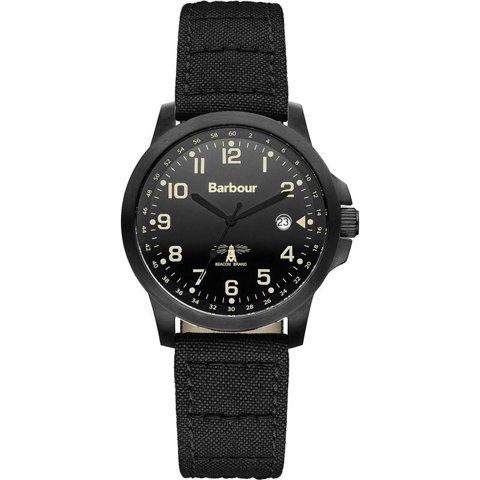バブアー 腕時計 スウェイル BB020BKBK ブラック×ブラックファブリック