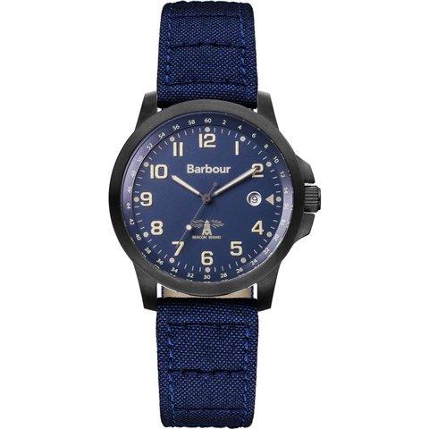 バブアー 腕時計 スウェイル BB020BKNV ブルー×ブルーファブリック