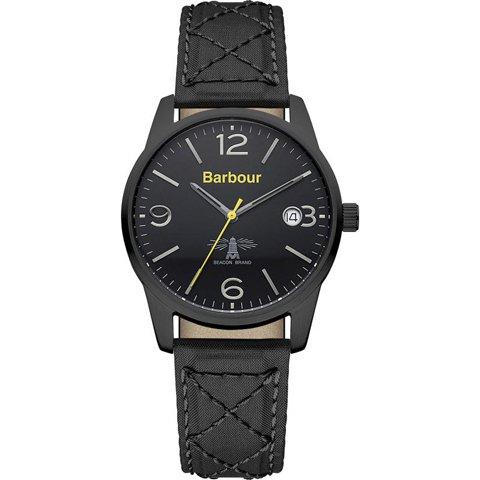 バブアー 腕時計 アルバニー BB026BKBK ブラック×ブラックファブリック
