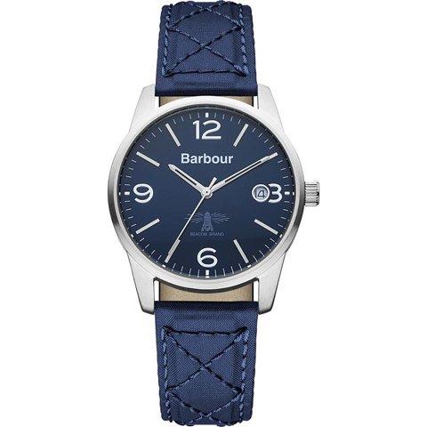 バブアー 腕時計 アルバニー BB026BLBL ブルー×ブルーファブリック