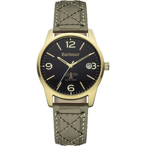 バブアー 腕時計 アルバニー BB026GRGR ブラック×グリーンファブリック
