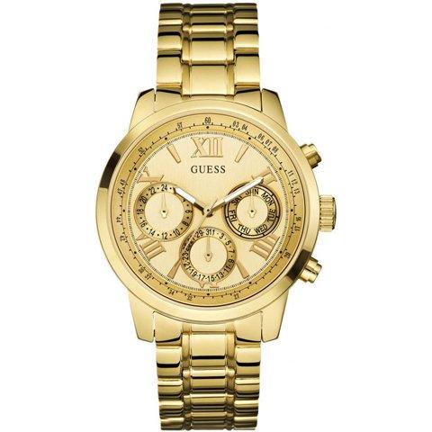 ゲス 腕時計 レディース サンライズ W0330L1 シャンパン×ゴールド