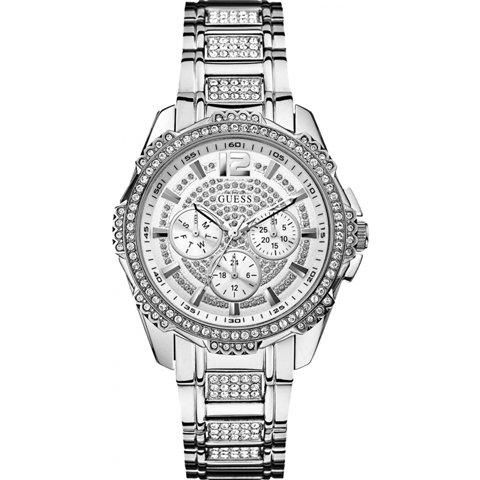 ゲス 腕時計 レディース イントレピッド2 W0286L1 シルバー×シルバー