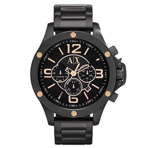 アルマーニエクスチェンジ 腕時計 メンズ ウェルウォーン AX1513 ブラック×ブラック