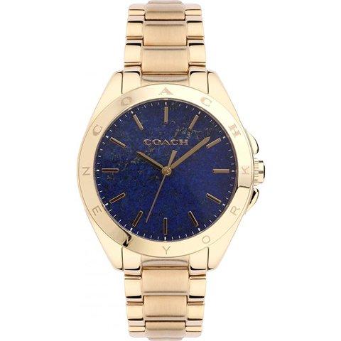 コーチ 腕時計 トリステン 14502051 ブルー×ゴールド