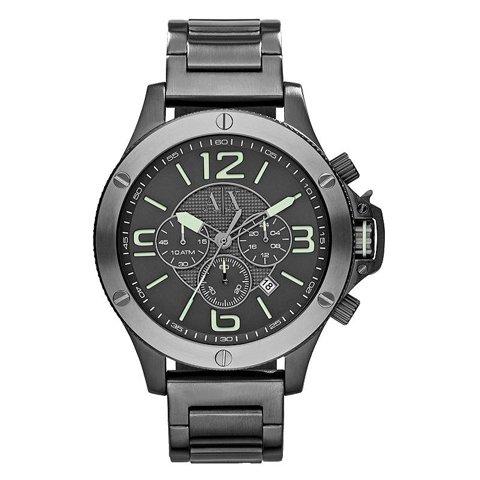 アルマーニエクスチェンジ/Armani Exchange/腕時計/メンズ/AX1507/ウェルウォーン/クロノグラフ/グレー×ガンメタル