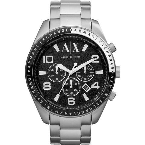 アルマーニエクスチェンジ/Armani Exchange/腕時計/メンズ/AX1254/クロノグラフ/ブラック×シルバー