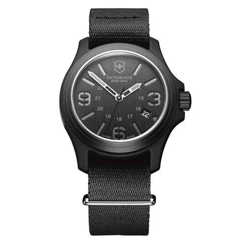 ビクトリノックス 腕時計 オリジナル 241517 ブラック×ブラック