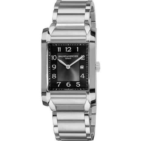 ボーム&メルシエ 腕時計 ハンプトン MOA10021 ブラック×ステンレススチール