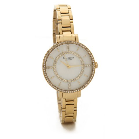 ケイトスペード 腕時計 1YRU0692 ホワイト×ゴールド