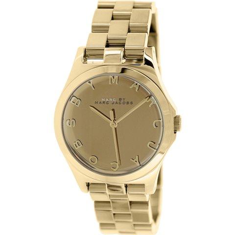 マークバイマークジェイコブス 腕時計 レディース ヘンリー MBM3211 ゴールド×ゴールド