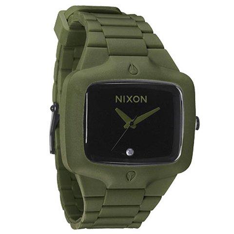 ニクソン 腕時計 ラバープレイヤー A1391042 ブラック×サープラス
