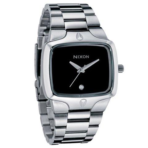 ニクソン 腕時計 プレイヤー A140000 ブラック×シルバー