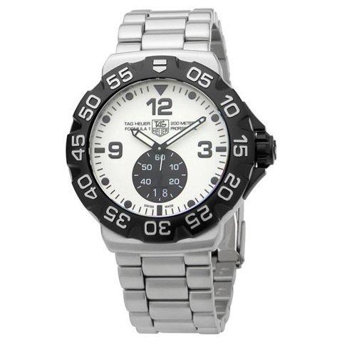 Tag Heuer(タグホイヤー) 腕時計 フォーミュラー1 WAH1011.BA0854 ホワイト×シルバー