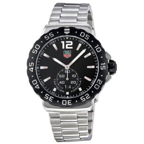 Tag Heuer(タグホイヤー) 腕時計 フォーミュラー1 WAU1110.BA0858 ブラック×シルバー