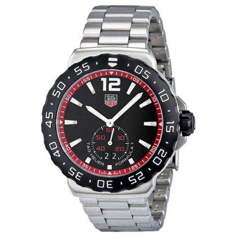 Tag Heuer(タグホイヤー) 腕時計 フォーミュラー1 WAU1114.BA0858 ブラック×シルバー
