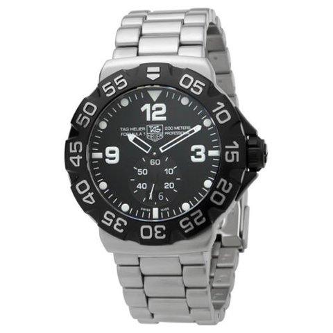 Tag Heuer(タグホイヤー) 腕時計 フォーミュラー1 WAH1010.BA0854 ブラック×シルバー