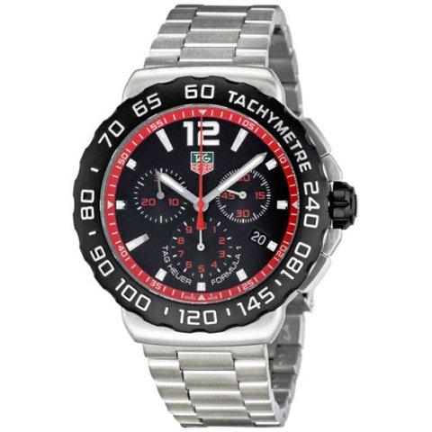 Tag Heuer(タグホイヤー) 腕時計 フォーミュラー1 CAU1116.BA0858 ブラック×シルバー
