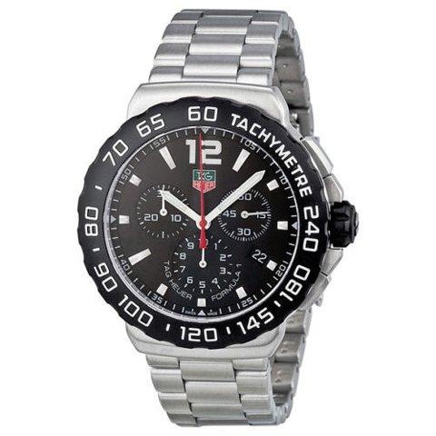Tag Heuer(タグホイヤー) 腕時計 フォーミュラー1 CAU1110.BA0858 ブラック×シルバー