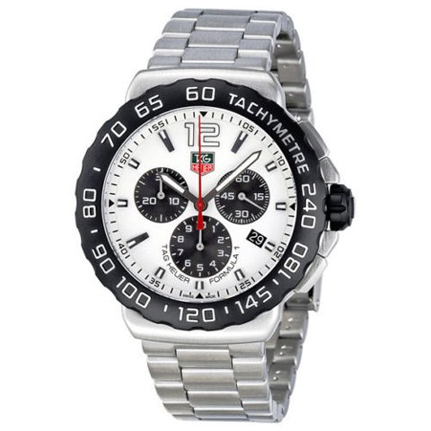 Tag Heuer(タグホイヤー) 腕時計 フォーミュラー1 CAU1111.BA0858 ホワイト×シルバー