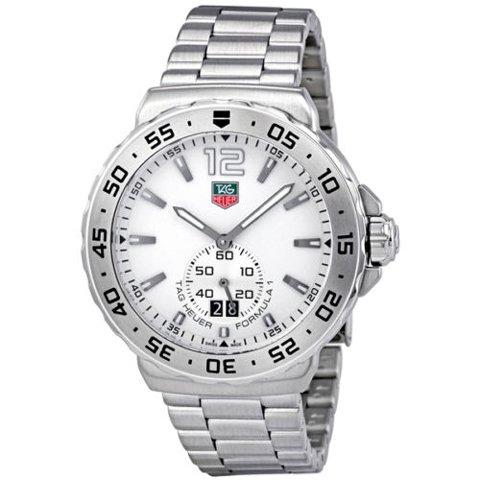 Tag Heuer(タグホイヤー) 腕時計 フォーミュラー1 WAU1113.BA0858 ホワイト×シルバー