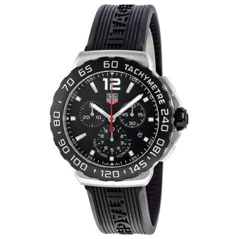 Tag Heuer(タグホイヤー) 腕時計 フォーミュラー1 CAU1110.FT6024 ブラック×ブラック