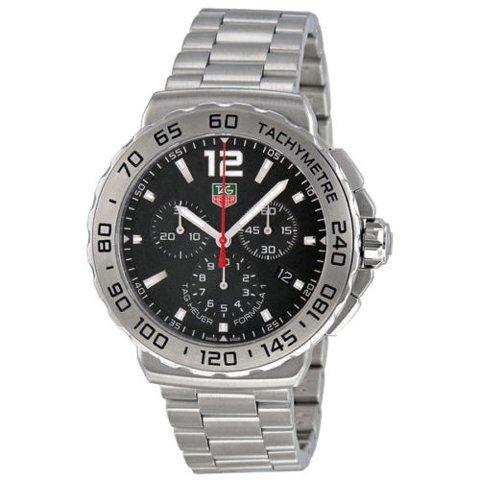 Tag Heuer(タグホイヤー) 腕時計 フォーミュラー1 CAU1112.BA0858 ブラック×シルバー