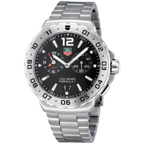 Tag Heuer(タグホイヤー) 腕時計 フォーミュラー1 WAU111A.BA0858 ブラック×シルバー