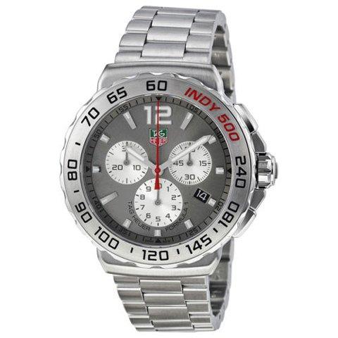 Tag Heuer(タグホイヤー) 腕時計 フォーミュラー1 CAU1113.BA0858 サンレイアントラシート×シルバー