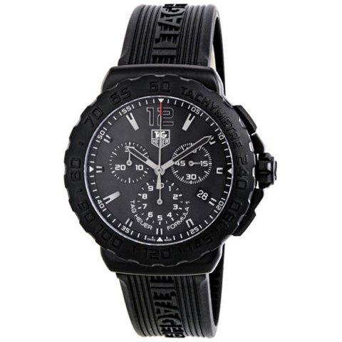 Tag Heuer(タグホイヤー) 腕時計 フォーミュラー1 CAU1114.FT6024 ブラック×ブラック