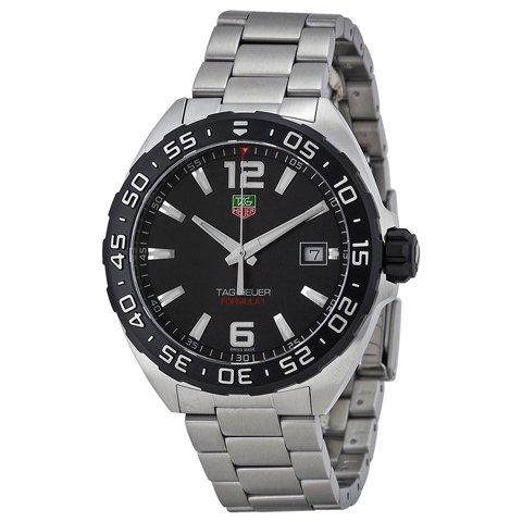 Tag Heuer(タグホイヤー) 腕時計 フォーミュラ1 WAZ1110.BA0875 ブラック×シルバー