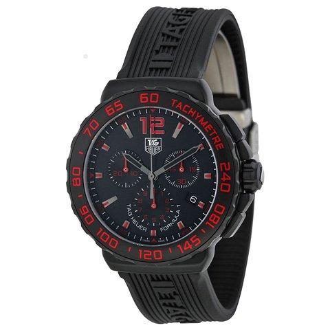 Tag Heuer(タグホイヤー) 腕時計 フォーミュラ1 CAU111D.FT6024 ブラック×ブラック