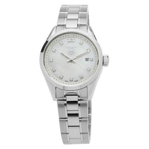 Tag Heuer(タグホイヤー) レディース 腕時計 カレラ WV1411.BA0793  マザーオブパール×シルバー