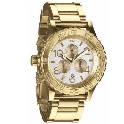 ニクソン 腕時計 42-20 A037-1219 シルバー×ゴールド