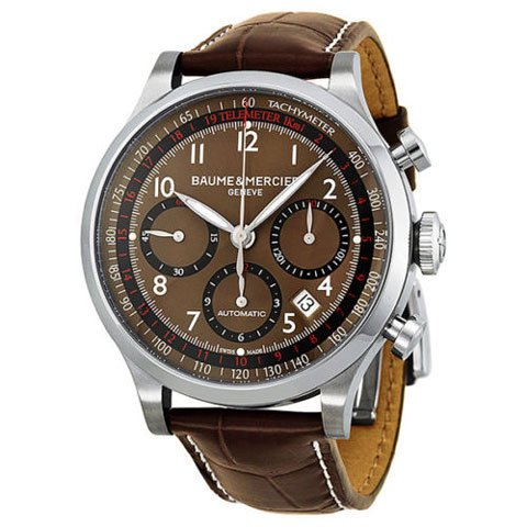 ボーム&メルシエ 腕時計 ケープランド M0A10083 ブラウン×ブラウン