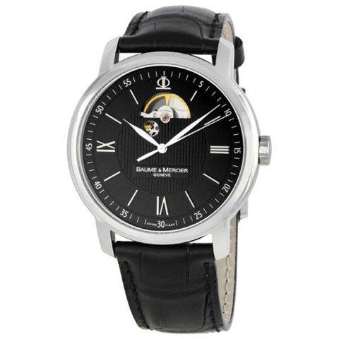 ボーム&メルシエ 腕時計 クラシマ M0A08689 ブラック×ブラック